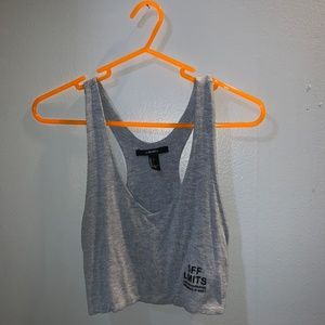 Off Limits Forever 21 Crop Top